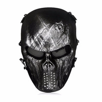 Mascara De Paintball Outdoormaster Full Face Airsoft Mask
