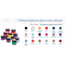 Kit Mano Alzada + Pinceles + Portapincel + Punteros + Regalo