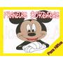 Franelas Bordadas De Mickey Mouse - Cumpleaños-cotillon