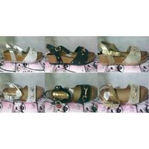 Sandalias De Tacón Corrido Bajo Para Damas Moda 2016