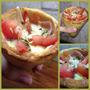 Pizza En Cono.una Forma Divertida De Comer Pizza.zona Oeste!