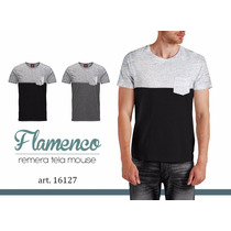 Remera Hombre District Flamenco Verano Moda Tendencia