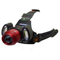 Lampara Cabeza/casco 3 Led 5000 Lumens 350mt Enfo/desenfoque