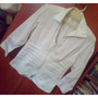Camisa Blanca Streach Tipo Indu T-m Ajustadita