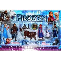 Set De Figuras De La Pelicula Frozen De Disney Para Niñas 3+