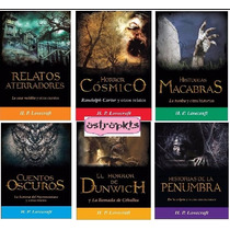 H.p.lovecraft Paquete Dia De Reyes 6 Libros