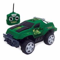 Carro Hulk Controle Remoto 7 Funções Original Nf 3182
