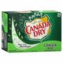 Refrigerante Canada Dry Ginger Ale - Caixa 24 Latas - Eua