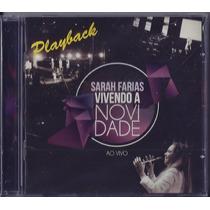 Playback Sarah Farias - Vivendo A Novidade (original)