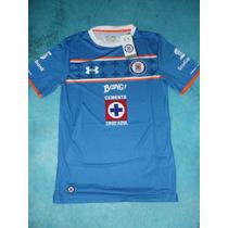 Jersey Original Under Armour Cruz Azul Liga 2015 - 2016
