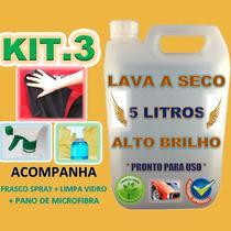Kit Lavagem Carro A Seco Com Pano Microfibra Magic Tuning