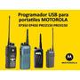 Programador Usb Para Motorola Ep350 Ep450 Pro2150 Pro3150