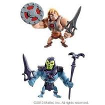Mattel Motu He Man + Skeletor Mini Figures