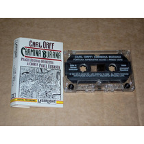 Carmina Burana Preague Orchestra Audio Cassette Kct Tape