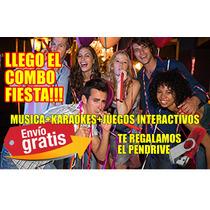 Musica Enganchada Karaokes Juegos Como Tv Pendrive