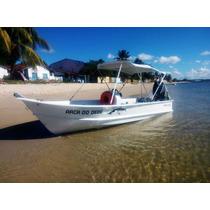 Barco Bote Lancha Fibra Pesca 5,60 C/console Artsol Fabrica