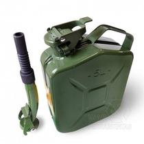 Galão Para Combustíveis Pequeno Em Metal 5l Com Bico