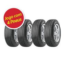 Kit Pneu Aro 14 Pirelli 175/65r14 P6 82h 4 Unidades