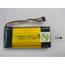 Bateria 3,7v 1550mah (dupla X2) Dvd Portátil Vicini Vc-6300