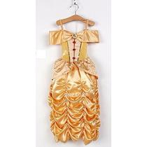 Vestido Fantasia Princesa A Bela E A Fera A Pronta Entrega