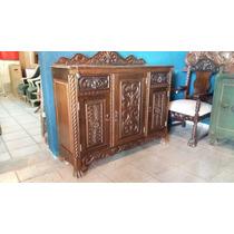 Antiguo Mueble Colonial Español