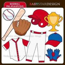 Kit Imprimible Beisbol 2 Imagenes Clipart