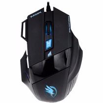 Mouse Gamer Usb 2400 Dpi Não Razer/macro Barato 7 Botões