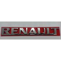 Emblema Renault Sandero Logan 09 10 11 12- Padrão Original