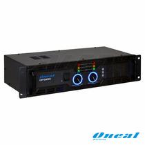 Amplificador Potência Oneal Op-2100 (modelo Novo Do Op-2000)