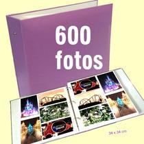 Álbum De Fotografias P/ 600 Fotos 10x15 Cm - Luxo