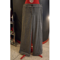 Pantalon De Vestir Bota Ancha Talla S