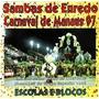 Cd / Sambas Enredo Carnaval 1997 Manaus - Escolas E Blocos
