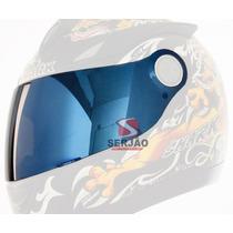 Viseira Shark S500 S500 Air Rsf2 Rsf3 Azul Iridium