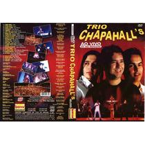Dvd Trio Chapahalls Ao Vivo Em Sao Mateus - Forro Original