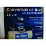 Compresor Huber,25lts.motor 2hp Presión De Aire 115 Psi