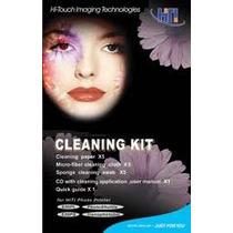 #1 Kit De Limpeza P/ Impressora Hi-ti Serie 63x E 64x