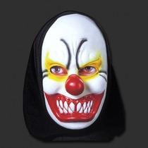 Mascara Latex Capucha Payaso Diabolico Terror Obras Jodas
