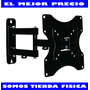 Base De Pared Tv, Lcd, Led, Plasma,14 A 40 Brazo Movil 047