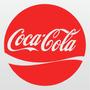 Kit 02 Adesivos Coca Cola 15cm X 15cm A120