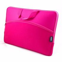 Capa Case P/ Notebook Com Bolso 15.6 - Pink