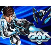 Kit Imprimible Max Steel Diseñá Tarjetas Cumple Y Mas