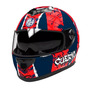 Casco Rs11 Hawk San Lorenzo Doble Visor En Freeway Motos !!