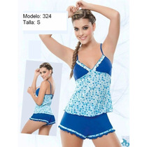 Hermoso Multiuso Pijama Corto Talla S 100% Colombiano