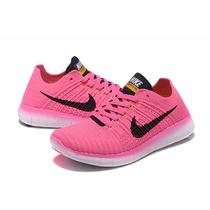 Zapatillas Nike Free Rn Flyknit Dama C/caja Mejor Precio!!