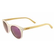 Lentes De Sol Femeninos Monroe Purple Bambu