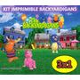 Kit Imprimible Backyardigans