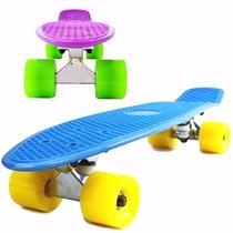 Skate Penny Patineta 42 Cm Longboard Rack Aluminio Colores