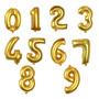 Globos Metalizados Numericos Numeros 16 Pulgadas Cumpleaños