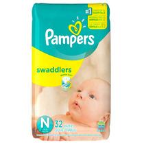 Pampers Swaddlers Recien Nacido - 32 Piezas