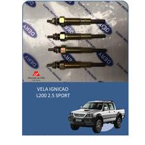 Vela Aquecedora H100/ L200 94/2003 Antiga (jogo 4 Peças)